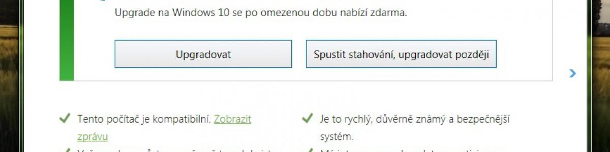 Konec s upozorňováním na upgrade Windows 10