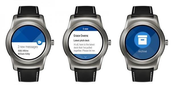 Microsoft Outlook se dostává do hodinek sAndroid Wear