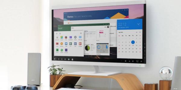 Beta verze Remix OS lze spustit z pevného disku a přináší dualboot
