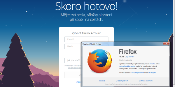 Je to tady – Mozilla Firefox 49 vyšla a umí číst články